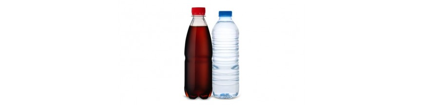 Agua mineral y zumos en el Sahara