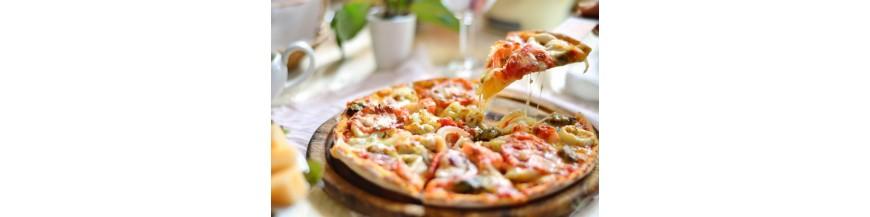 Pizzas y comida preparada