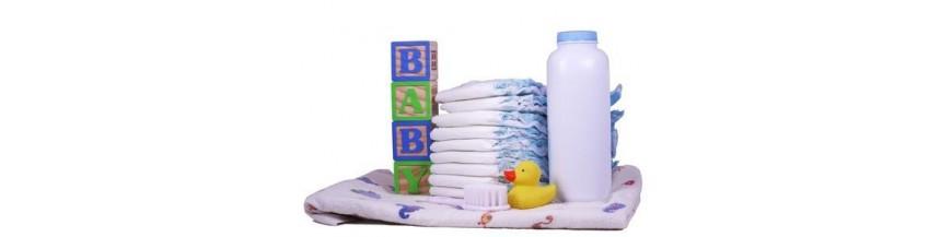 Higiene bebés y nutrición infantil juguetes